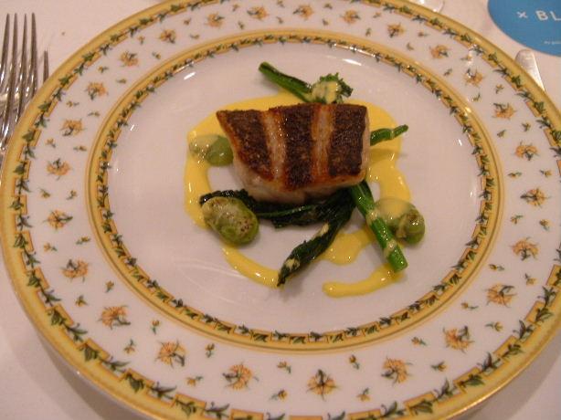 4.お魚料理 ソイのシャンパンクリームソース.JPG