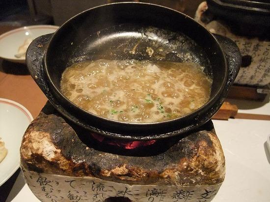 小鍋を煮詰めてタレ作り.jpg